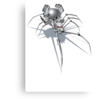 Nano Tech War Spider Canvas Print