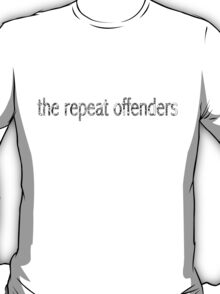 The Repeat Offenders (Paisley Design 1) T-Shirt