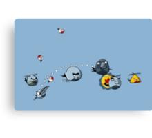 RCAF Birds Canvas Print