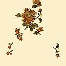 Flower - Chinese Applique Embroidery iPhone Case by Jane McDougall