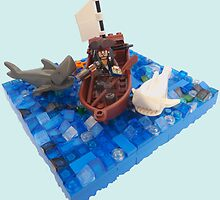 When Sharks Attack by minifignick