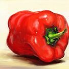 Classic Still Life Paprika  by Przemysaw Brdka