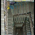Tacheles Staircase by Tim Topping