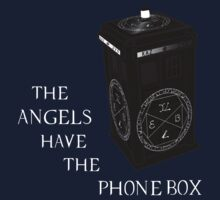 Superwho - The Angels have the phone box by FoxRiver
