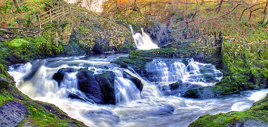 Rival Falls Ingelton - HDR by Colin J Williams Photography