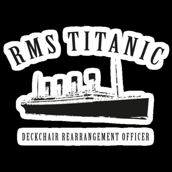 RMS Titanic Deckchair Rearrangement Officer by Stephen Hoper