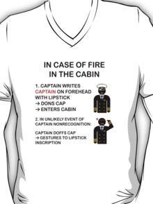 Captain Dons Cap T-Shirt