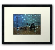 Window Beads Framed Print
