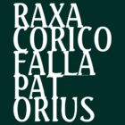 RAXA CORICO FALLA PAT ORIUS (white) by Becpuss