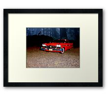 "Plymouth 1958 ""Christine"" Framed Print"