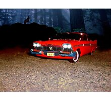 "Plymouth 1958 ""Christine"" Photographic Print"