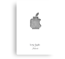 Lego Apple  Canvas Print