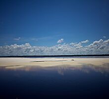 White Sand Island on the Amazon by Reuben Reynoso