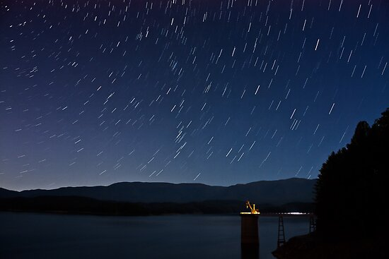 South Holston Lake Star Trails by Greg Booher