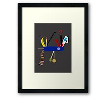 Swiss Doctor Knife Framed Print