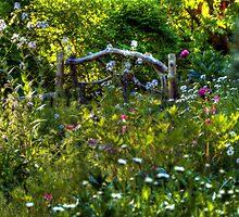 Garden Gate by Monica M. Scanlan