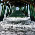 "Bogue Inlet Pier by Carol ""Cookie"" Holmes"