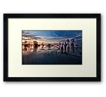 Menindee, the Transition Framed Print