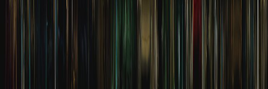 Moviebarcode: Buried (2010) by moviebarcode