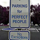 Parking For Perfect People by Jane Neill-Hancock