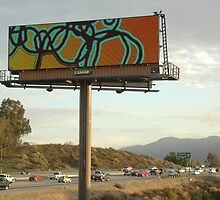 US Billboard Art Project 2011 San Bernadino by Andy Mercer