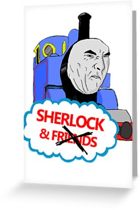 Sherlock the Tank Engine by Leah Cooper