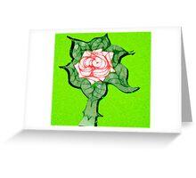 Scribblertoo Rose Greeting Card