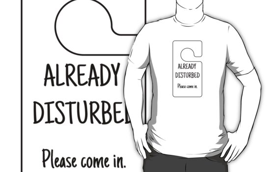 Already Disturbed - Please Come In by Chris Cardwell