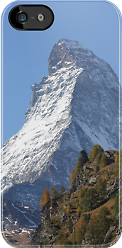 Matterhorn iPhone Case by Jan Vinclair