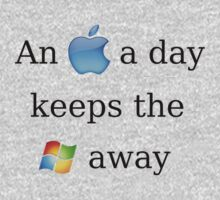 Apple Vs. Windows by ImmChriss