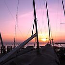 MASTS AT SUNSET by gothgirl