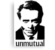 Unmutual Canvas Print