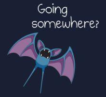 Zubat - Going Somewhere? Kids Clothes