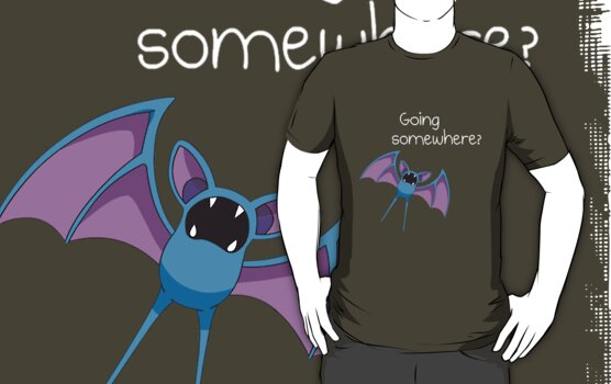 Zubat - Going Somewhere? by missbrodrick