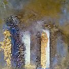 Dissolving Columns against a sky of gold by nexus7