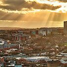 Sheffield Skyline Panorama by Mat Robinson