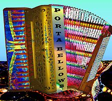 Paint My Accordion #3: Porta Bellows (UF0579) by barrowda