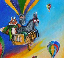 hot air balloon adventure by pjan3202