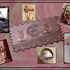 Photo Collage of sweet things in my home. by Sandra Foster