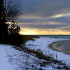 Winter Sunset by Greta  McLaughlin