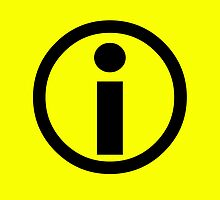 Information Symbol - Yellow by ChadAlan
