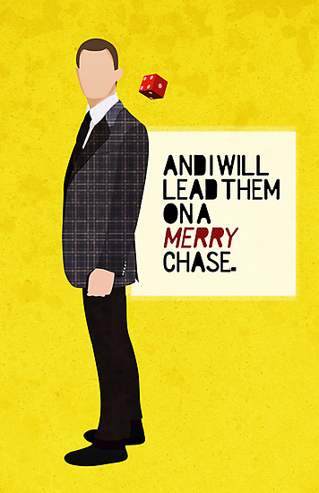 """""""And I will lead them on a merry chase."""" by Bliss Ng"""