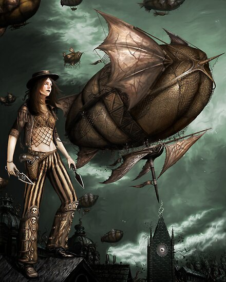 Black Ships Ate the Sky by InsectsAngels