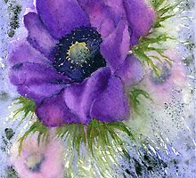 Anemone (Original sold) by Jacki Stokes