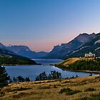 Waterton Lake vista by Peter Luxem