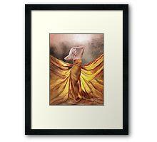 Who's That Girl.. Framed Print