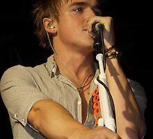 Tom Fletcher [McFly]; Live Print. 19th October 2010.  by Nicky Jones