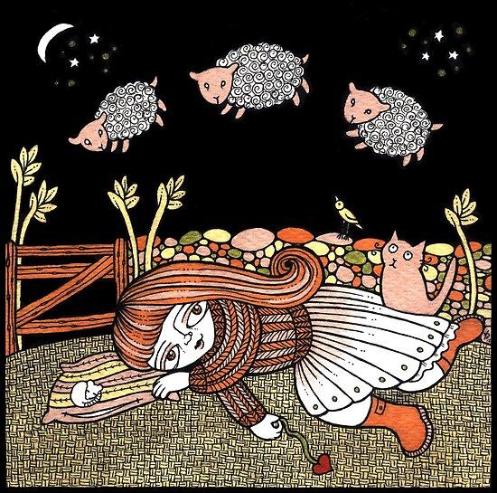 Sheilas Sheep by Anita Inverarity