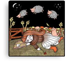 Sheilas Sheep Canvas Print
