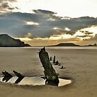 Rhossili Bay, Gower at Dusk by markdavies87
